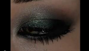 Smokey Emerald EyeMakeUp. Смоки макияж
