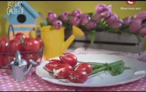 Консервированные помидоры, вяленые