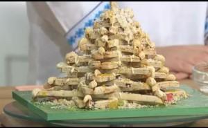Десерт - елка