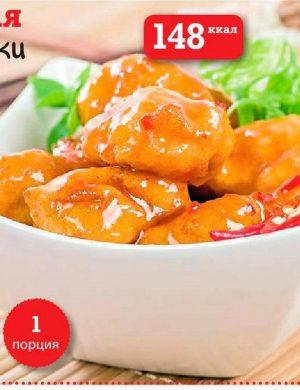 Медово-имбирная курица по-китайски