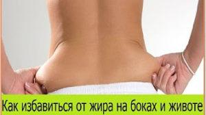 Жир на Животе и боках. Как избавиться от жира на животе и боках в домашних условиях
