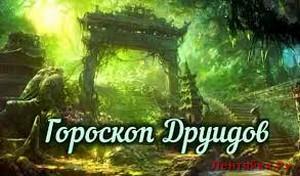 Гороскоп друидов на 2017 год