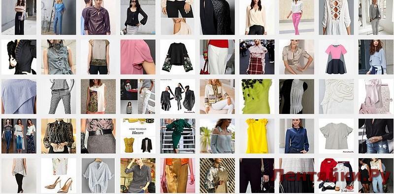 Модные блузки 2
