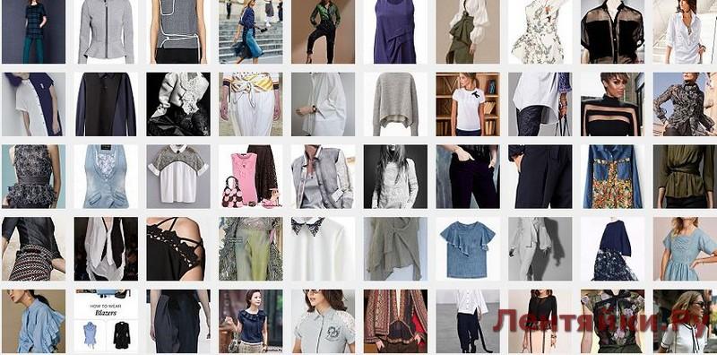 Модные блузки 3 (Модели 101-150)