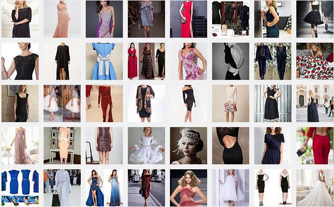 Платье на Новый год 2(Модели № 51-100)