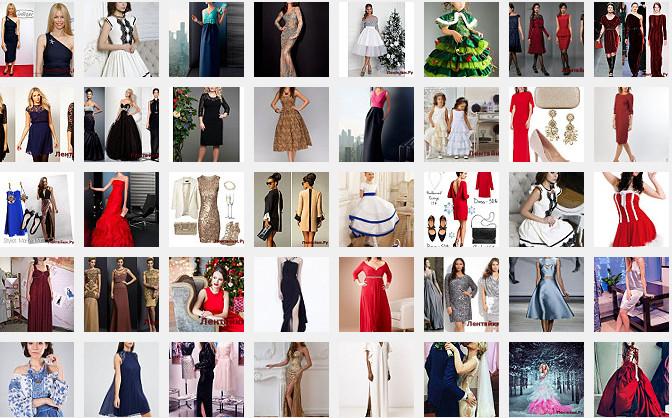 Платье на Новый год 6(Модели № 251-300)