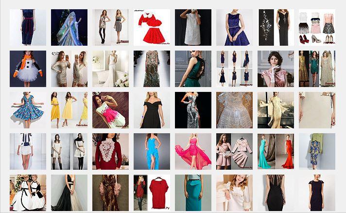 Платье на Новый год 8(Модели № 351-400)