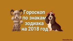 Год Собаки: гороскоп для всех знаков зодиака