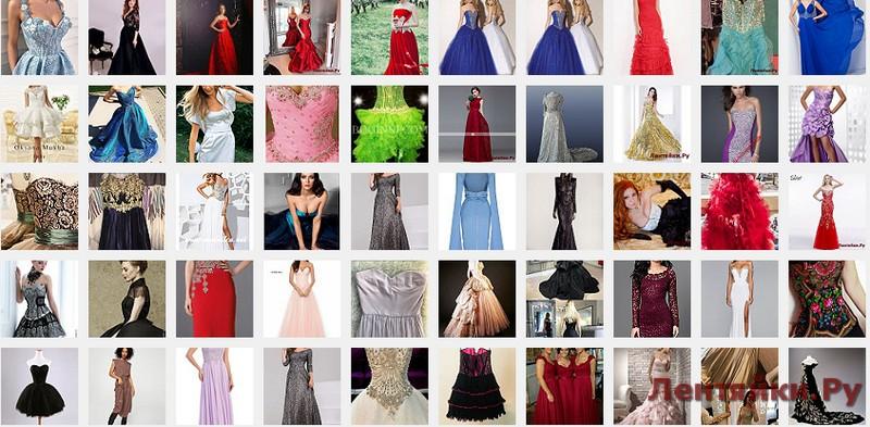 Вечернее платье с корсетом 2