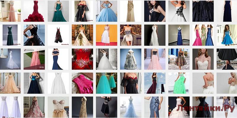 Вечернее платье с корсетом 7