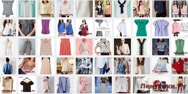 Летние блузы 4