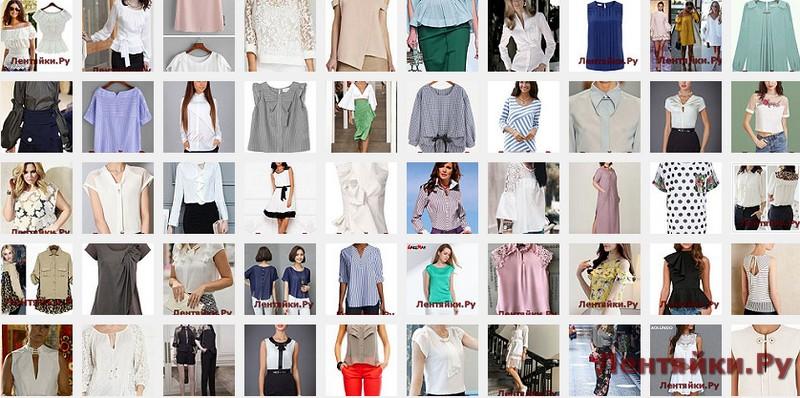Летние блузы 5
