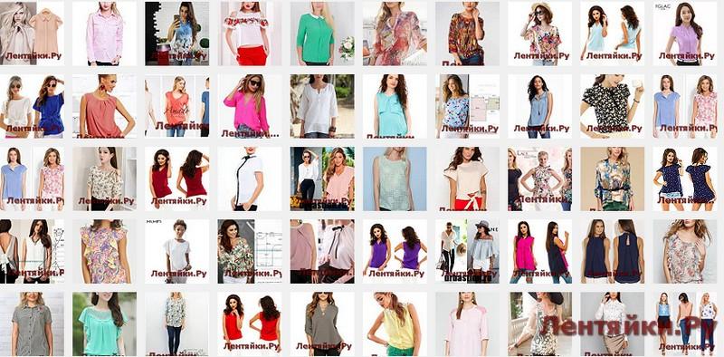 Летние блузы 7