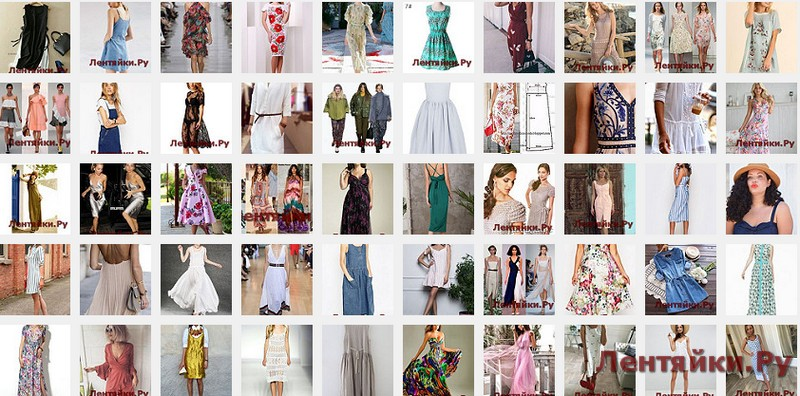 Модные сарафаны 8