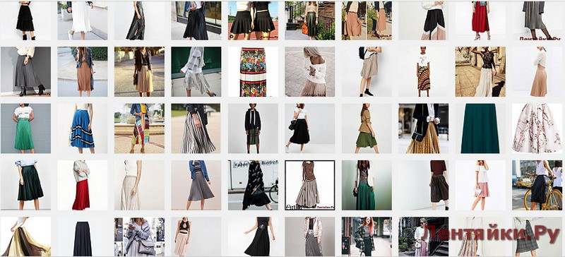 Плисированная юбка 3