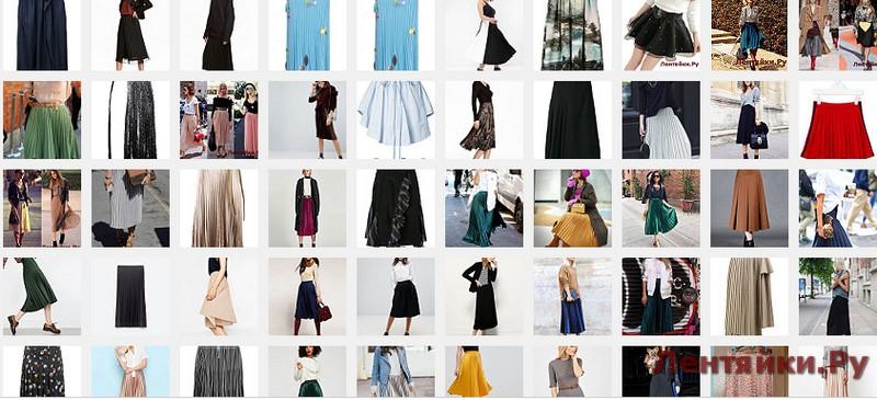 Плисированная юбка 4